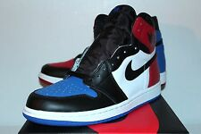 Air Jordan Retro 1 I Top 3 Blue Red White Sneakers Men's Size 8 9 10 11 12 New