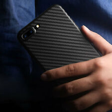 Ultra-thin Super Light Carbon Fiber Back Case Cover For Apple iPhone 7/ 8 Plus