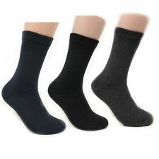 Mens Thermal Crew Boot High Heated Insulated Winter Warm 3-12 pack Socks Pack