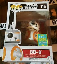 SDCC 2016 Exclusive Funko Pop! - Star Wars Episode VII - BB-8 (Thumbs Up) BB8