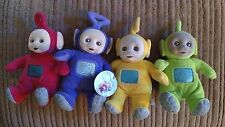 """TELETUBBIES SET 7"""" - ALL FOUR - TINKY WINKY, DIPSY, LAA LAA AND PO"""