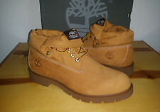 NEW Mens 10 Timberland Basic Roll Top Boot WHEAT