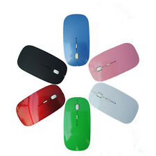 New 2.4 GHz Optical Wireless Mouse Mice with USB Receiver For Macbook Laptop PC