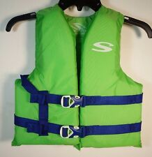 Coleman Stearns Classic Series Youth Life Jacket Flotation Vest 50-90Lbs