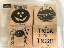 Stamp Set - Stampin Up - Gently Used - Trick or Treat