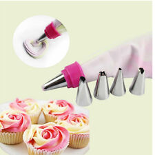 Piping Icing Nozzles Tips Pastry Bag Cakes Cupcakes Sugarcraft Decorating Tools