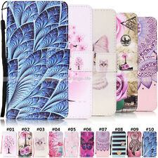 Protector Cute Wallet Stand Card Slot PU Leather Case Cover For Samsung Phones