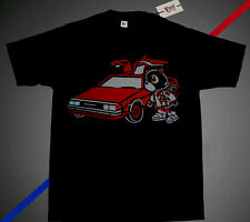 Nwt Fnly94 Kanye west bear car shirt Black Red yeezy boost 350 cartoon M L XL 2X
