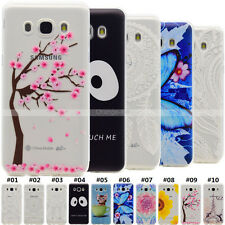 Shockproof Rubber Soft Back TPU Silicone Fashion Shell Case Cover For Samsung