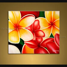 Amazing Contemporary Wall Art Floral Painting Egg Flower Oil Canvas