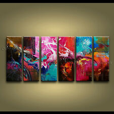 Handmade Artcrafts Huge Modern Abstract Painting Wall Art Oil On Canvas