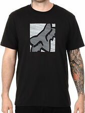 NEW FOX RACING MENS BLACK CONJUNCTION SS TECH SHORT SLEEVE S/S TEE SHIRT