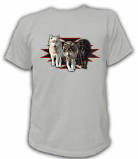 T-Shirt Wolf Wolves Wolves Native Indian Indian Spirit Wolf pack USA US 16436