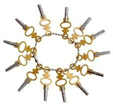 14 Piece Winding Winder Wind Key Tool Set for Old Time Pocket Watch