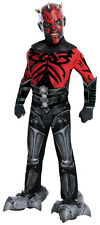 Darth Maul deluxe childs muscle chest costume Star Wars
