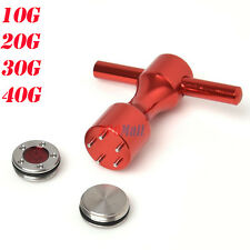 10g~40g Golf Custom Weights & Red Wrench Fit for Titleist Scotty Cameron 2012 US