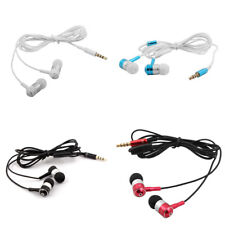 3.5mm Jack In-Ear Earbuds Heaphones Headset Music Stereo Earphone w Microphone