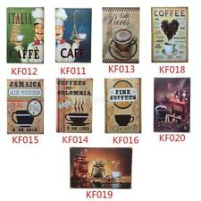 Retro COFFEE Metal Tin Sign Art Poster Home Cafe Bar Pub Vintage Plaque Decor