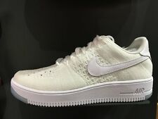 Nike AF1 Ultra Flyknit Low White Air Force 1 NSW Mens Casual Shoes 817419-100