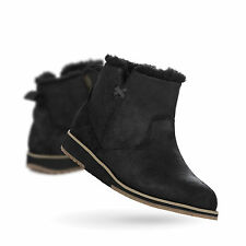 New EMU Australia  Beach Mini Womens Deluxe Wool Boot Beach in Black