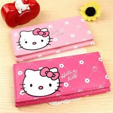 Womens Trendy Cat Card Holder Clutch Wallet Cion Purse PU Leather Checkbook