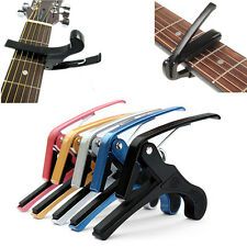 Classic Quick Change Tune Clamp Key Trigger Capo For Acoustic Electric Guitar
