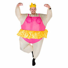 INFLATABLE BALLERINA FANCY DRESS COSTUME FAT SUIT STAG HEN NIGHT OUTFIT