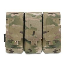 ELITE OPS 5.56mm TRIPLE M4 SA80 F88 MOLLE MAGAZINE POUCH SHINGLE AMMO MAG POUCH