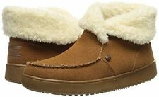 Women's Skechers 31254/CSNT Cozy High Mittens Boot Slipper Chestnut Brand New