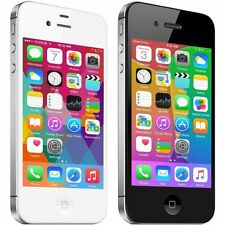 8G/16G/32G iPhone 4S GSM Factory Unlocked iOS Smartphone(A+++) -Black & White WN