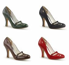 Pinup Couture SMITTEN-20 sexy Mary Jane Pump