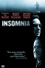 Insomnia (DVD, 2002, Widescreen) Like New