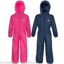 KIDS TRESPASS ALL IN ONE RAINSUIT PUDDLE SUIT BOYS TODDLER BABY