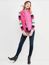NWT Gap Women's Warmest Quilted Puffer Puffy Vest Proton Pink Neon XS S