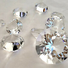 Crystal Diamond Paperweight for Table Decor Home Wedding Favors Souvenir Gifts