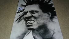 SIGNED AUTOGRAPH JORGE HERRERA THE CASUALTIES PUNK ROCK HUGE 11X14 PHOTO A