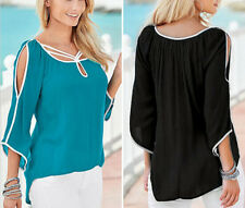 Short Loose Sleeve Fashion Blouse Ladies Tops Women Summer T-Shirt Casual Top