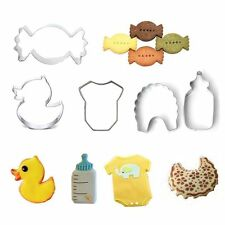 Party Cake Decoration Biscuit Baking Mold Cookie Cutter Stainless Steel Tool