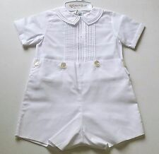 Boy FELTMAN BROTHERS boutique outfit 12M 18M 3T 4T NWT white wedding Christening