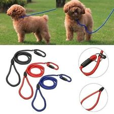 1cm Diameter Nylon Slip Rope Walk the Dog Pet Lead Leash Soft Strong Working Tra