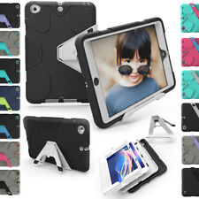 Heavy Duty Shockproof Armor Rugged Hard Kickstand Case Cover For iPad Mini 1 2 3