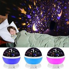 Romantic LED Starry Night Sky Galaxy Projector Lamp Star light Cosmos Master Hot