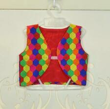 Bollywood Indian Designers Kids Wear Jacket Multicolor Cotton Party Ethnic Dress