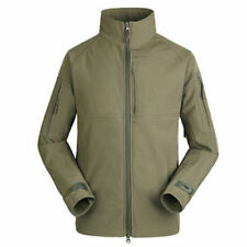 Mens Waterproof Soft Shell Outdoor Hunting Jacket CAMO Army Combat Tactical Coat