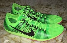 Mens Sz 4.5 9 14 NIKE Matumbo 2 Lime Green Black Mid Distance Track Spikes Shoes