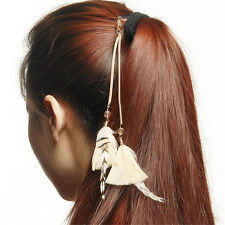 Fashion American Indian Hippie Feather Hair Comb Clip Extension Tribal Costume