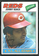 1977 Topps #70 Johnny Bench AS EXMT 88786
