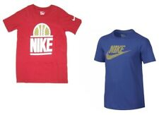 Nike  Boys  Short Sleeve  Red Cotton  Basketball  T Shirt  NWT Sizes S  M  or  L