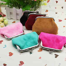 Womens Ladies Small Coin Purse Mini Pouch Wallet Makeup Bag Key Card Holder Case