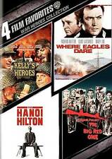 NEW--War Heroes Collection: 4 Film Favorites (DVD, 2010, 2-Disc Set)